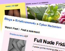 The Adult Friend Finder Member Blogs community posts about casual sex, sex dates, more